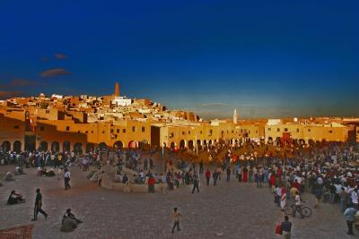 The square,Ghardaia
