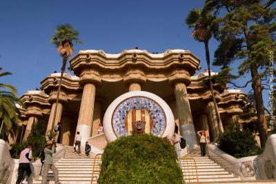 The steps at Park Guell #39491