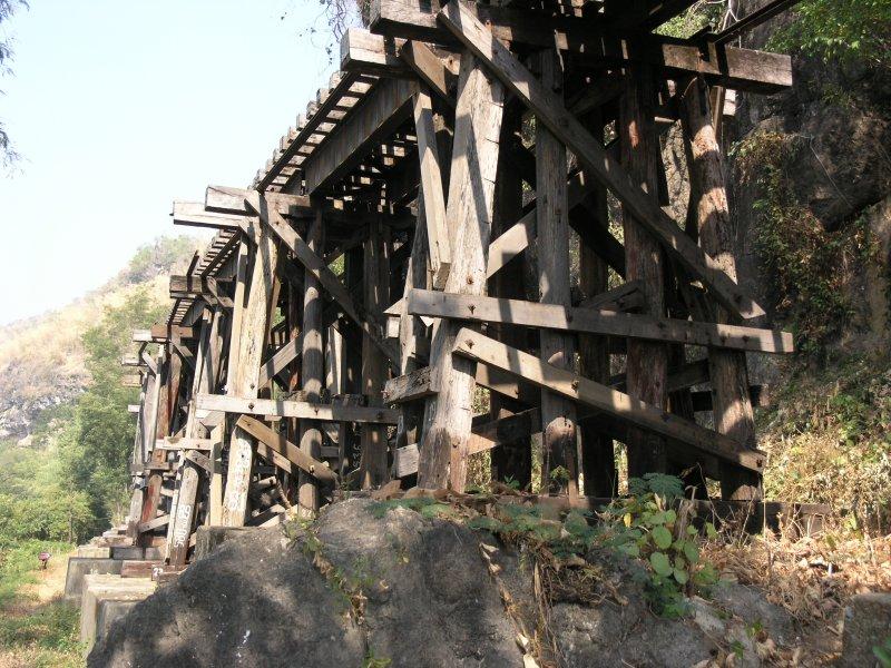 Death Railway Woodwork of Wampo Viaduct