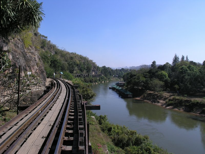 Wampo Viaduct - Cave Side