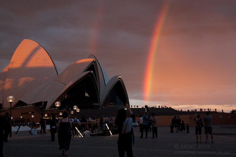 3254367 Snapping The Double Rainbow I