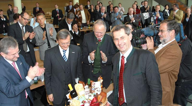 Gruß aus der Buckligen Welt für Bundeskanzler Schüssel