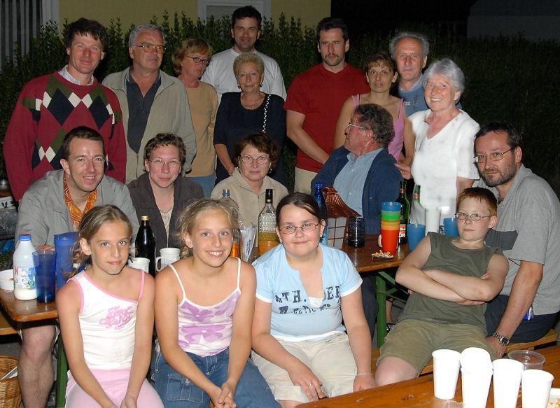 Gasslfest in der Ackergasse, 17. Juni 2006