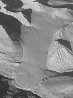 Snow Covered Glacier
