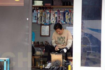 Street cobbler