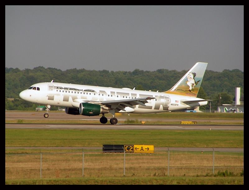 Frontier Airlines Falcon