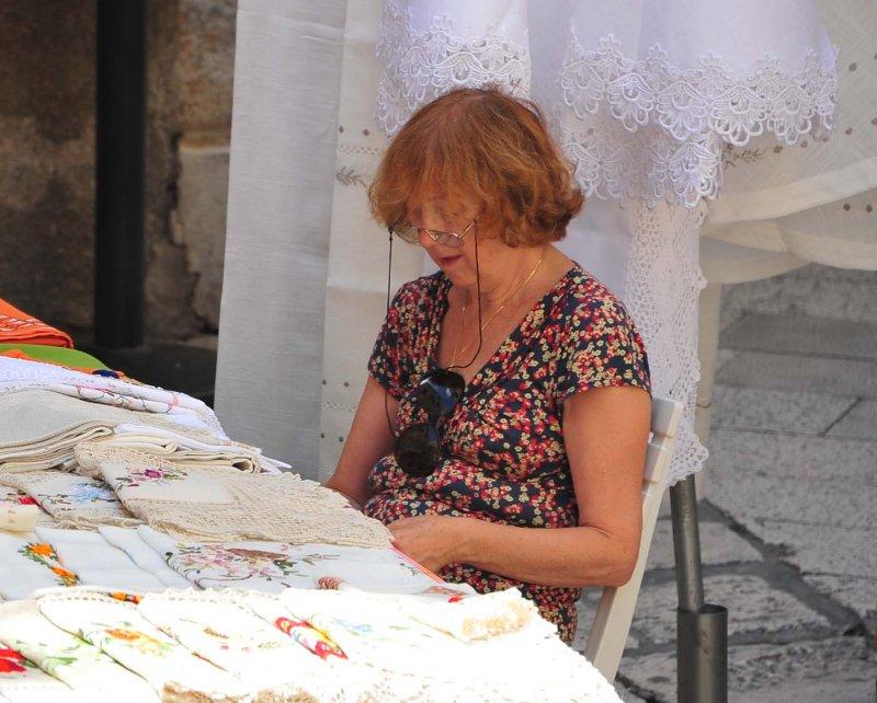 Dubrovnik Lace Maker