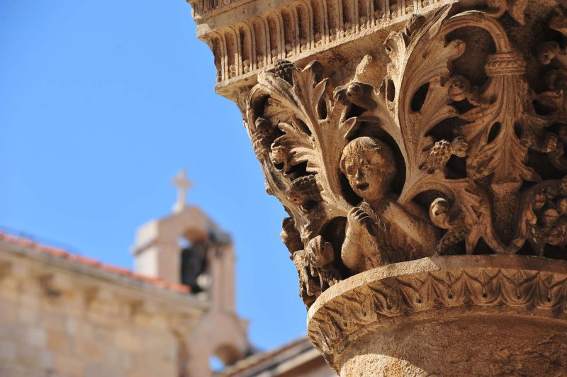 Building detail Dubrovnik