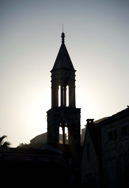 Sunset Hvar Town