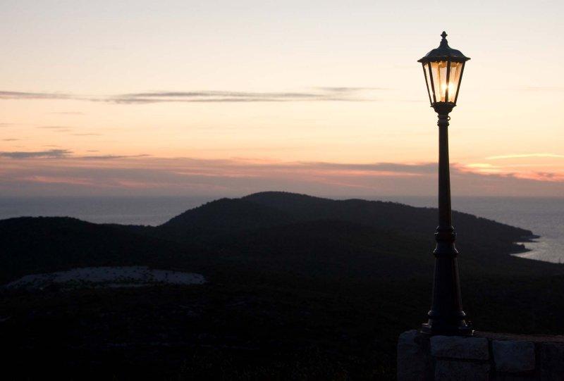 View from Panorama Restaurant - Hvar