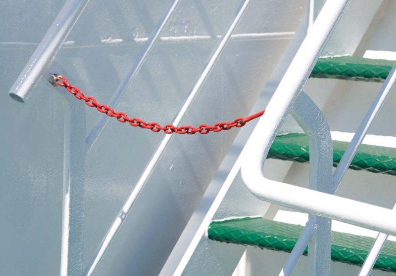 Chain on Ferry Drvenik