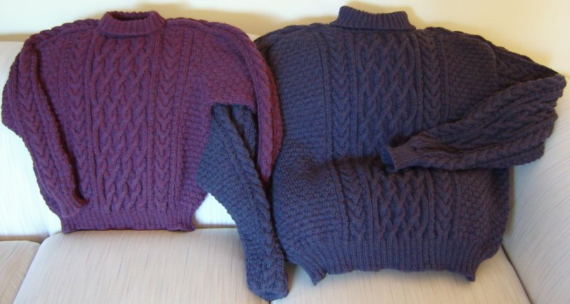 Finished Drops Pullovers