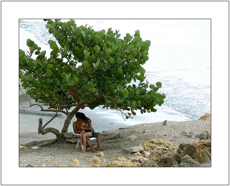 Young Love: Under the Tree