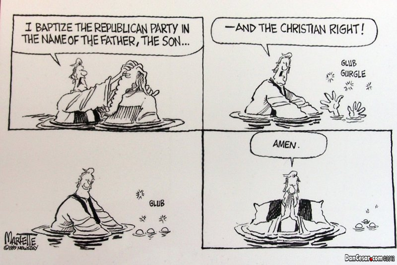Right Wing Christian Republicans