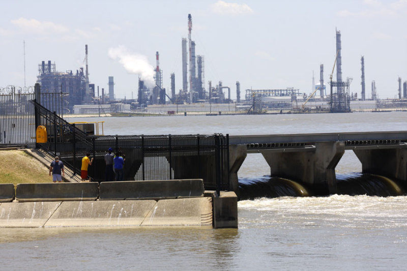 Water Still Pouring into Bonnet Carre Spillway