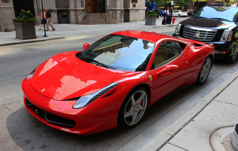 Chicago - Ferrari 458 Italia
