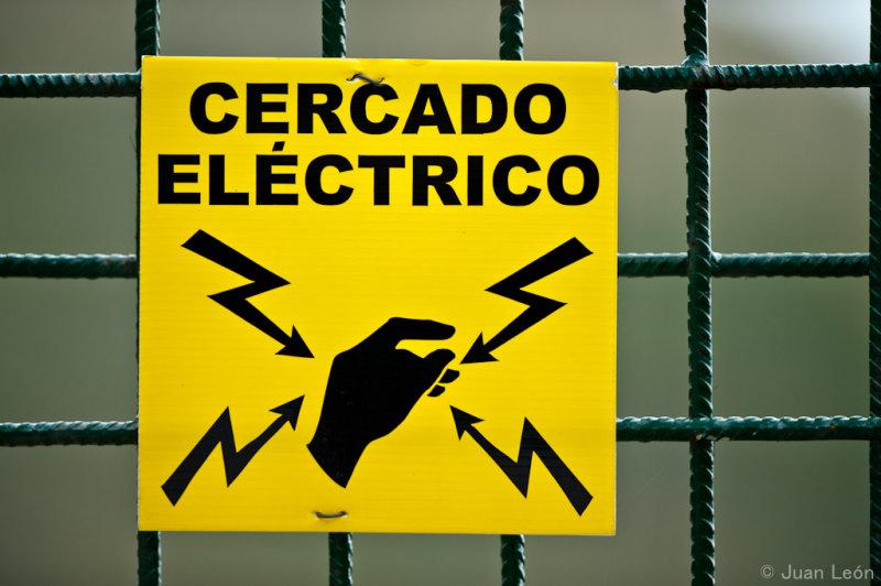 Valla electrificada