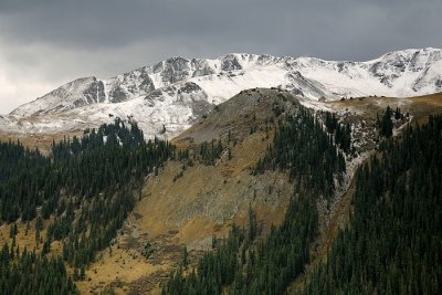Approaching The Snow Line-Alpine Loop