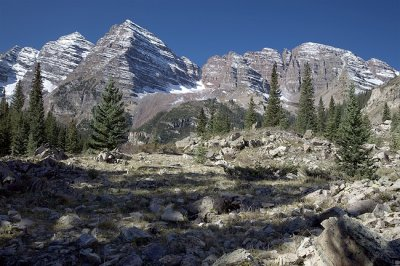 Near The Top-Maroon Bells