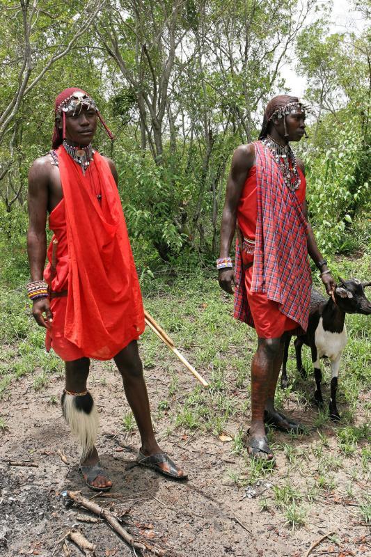 Visite dun village Masaï