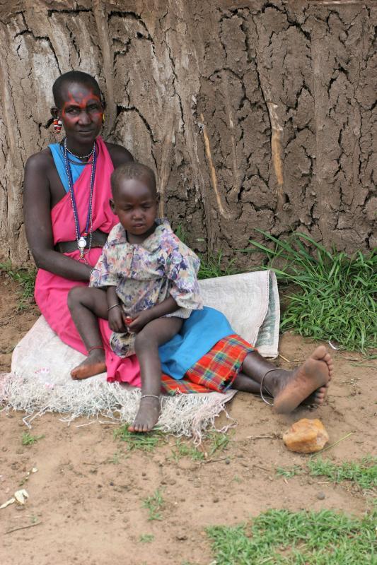 Visite dun village Masaï situé en bordure de la réserve de Masaï-Mara