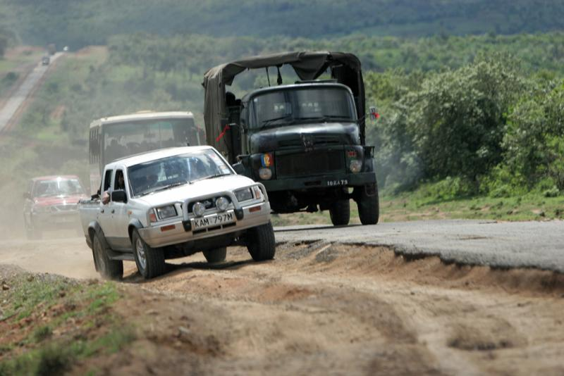 Départ pour la réserve dAmboséli
