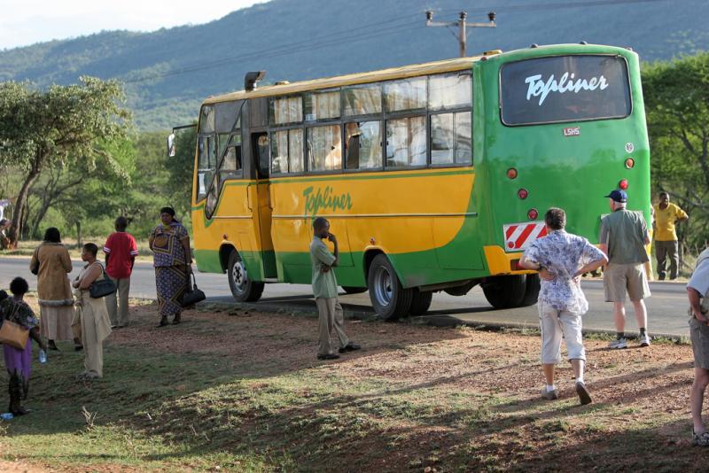 En route pour la réserve dAmboséli