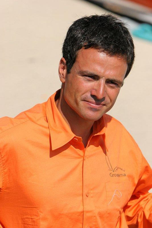 Franck Cammas, skipper des trimarans Groupama 2 et 3