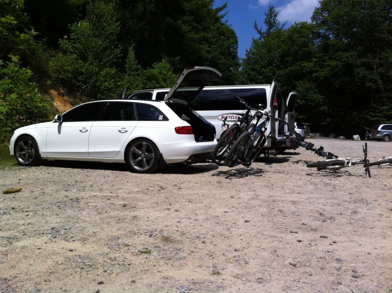 bike racks what do you use rh audizine com Audi A4 6-Speed Manual 2008 Audi A4 Manual
