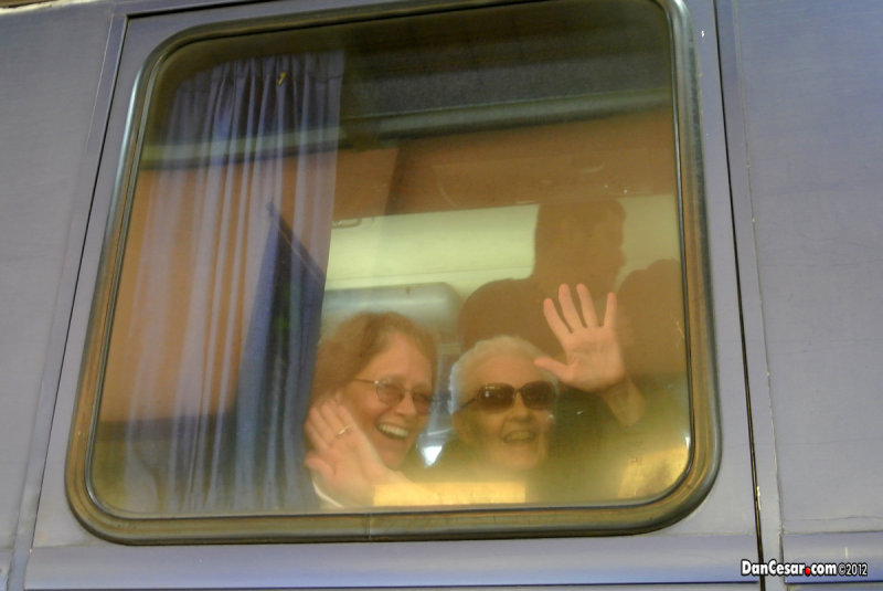 Arriving on the Tica Bus