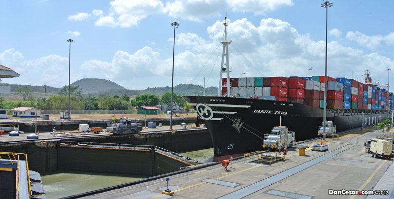 Miraflores Locks of the Panama Canal