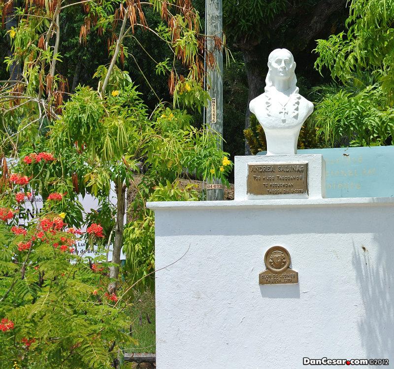 Park in San Pedro on Isla Taboga
