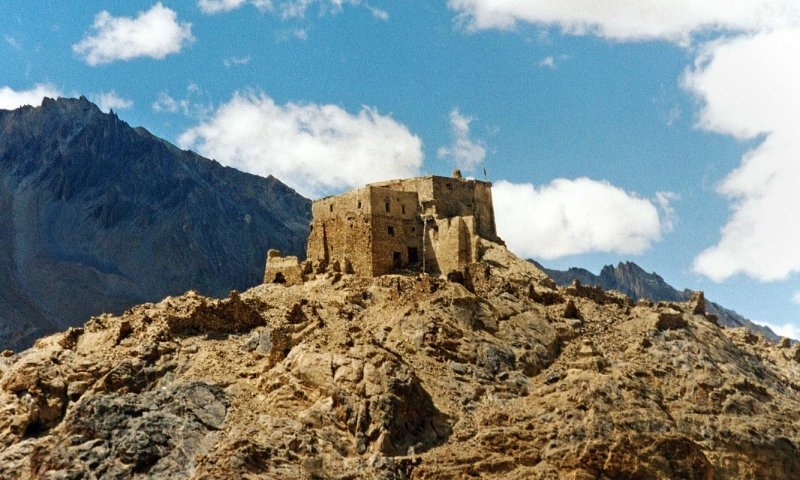 Zangla castle