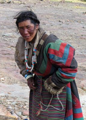 Pilgrim at prayer