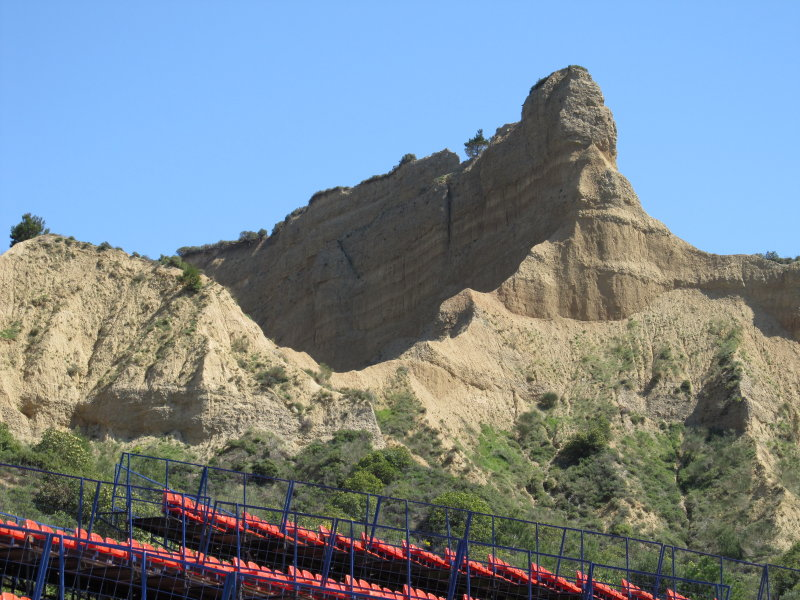 Escarpment looking up from ANZAC