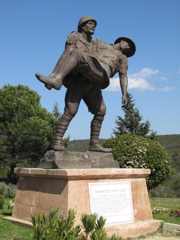 Respect to Mehmetçik Memorial