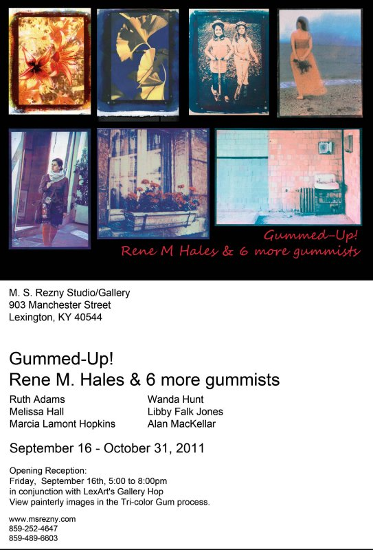 Gummed-Up! Invitation to Gallery Show