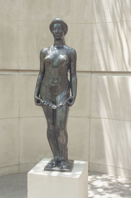 Flora by Aristide Maillol 1911