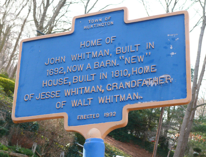 John Whitman home sign