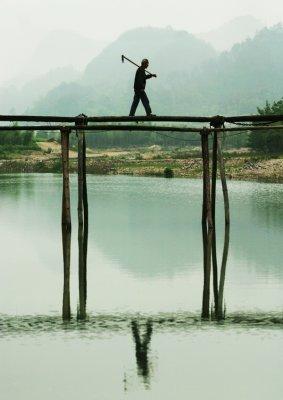 Life is hard...and beautiful, Hu Village, Anhui Province, China, 2006