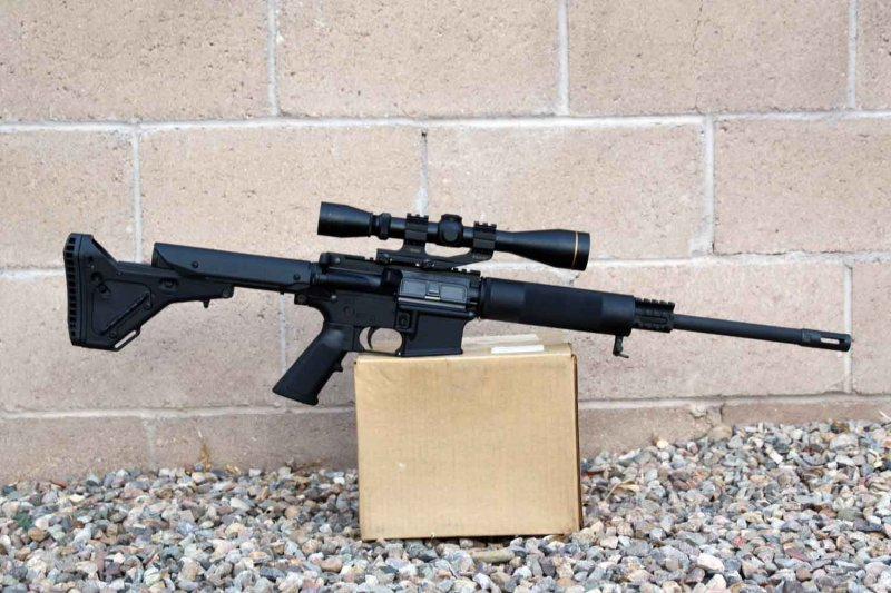 450bushmaster Net View Topic 450b Ar Style Rifle