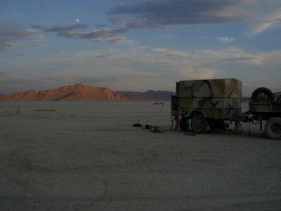 North . . . to the Black Rock Desert