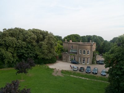 Northdown House Aerial View