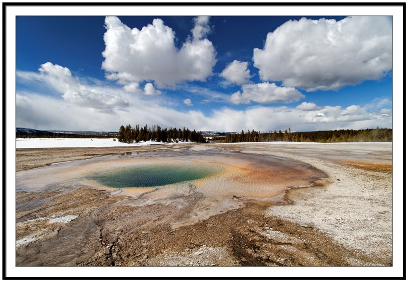 Somewhere in Yellowstone...