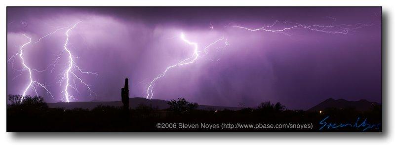 Lightning : Panoramic 2