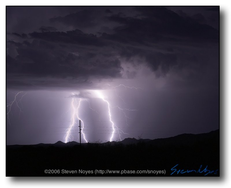 North Tucson : AZ Monsoon Lightning