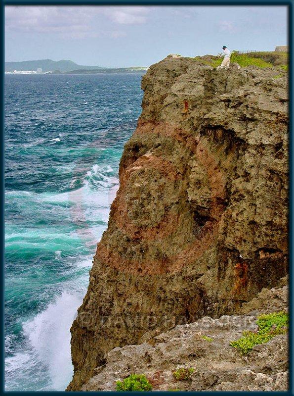 Fisherman on Cliffs