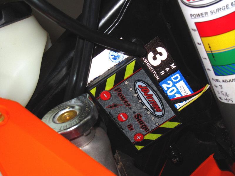 KTM 250 and 350 JDJetting EFI Tuner