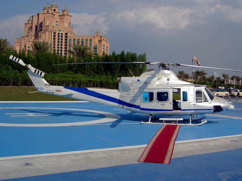 Bell 212  A6-DYR