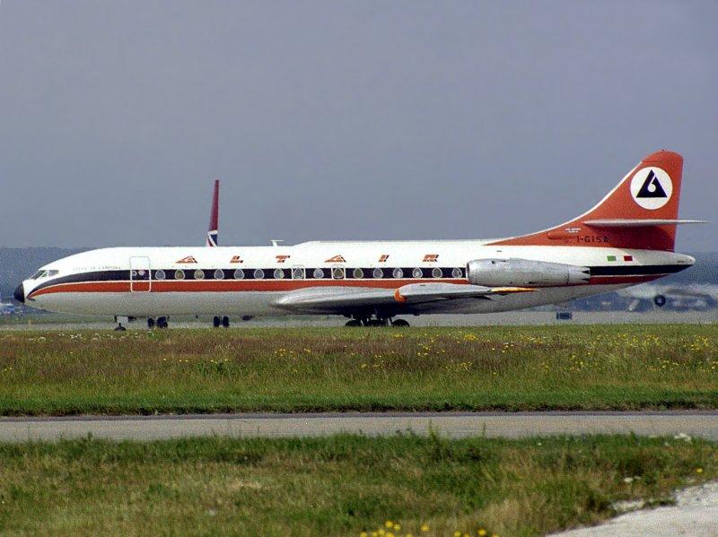 SE-210 Caravelle  I-GISA